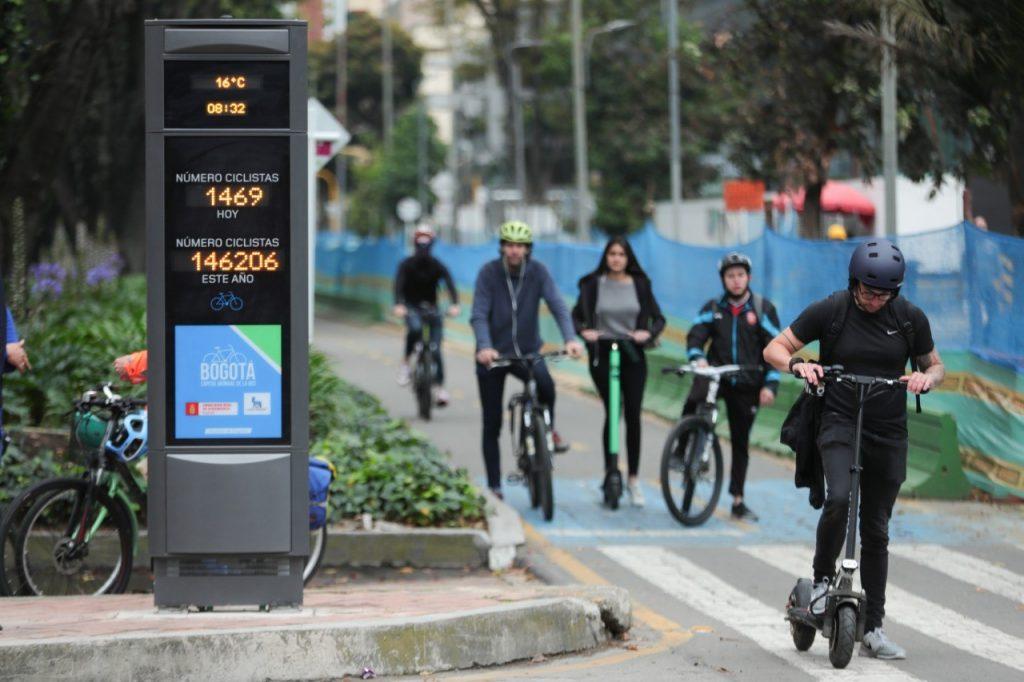 Nota, Contador de Bicicletas, 24 - 07 - 2.019