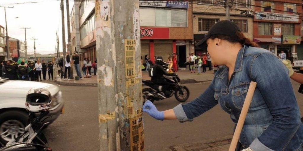 Jornada de Limpieza en Bogotá.