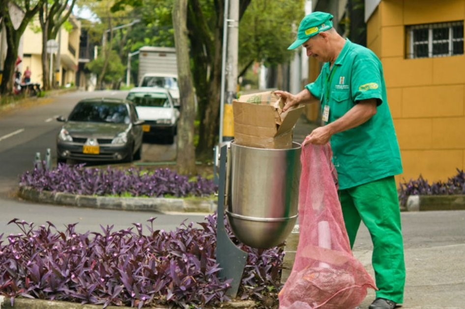 Reciclaje en Colombia.