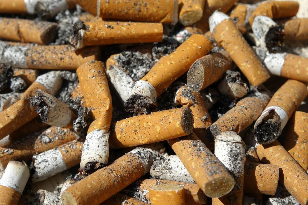Colillas de Cigarrillo.