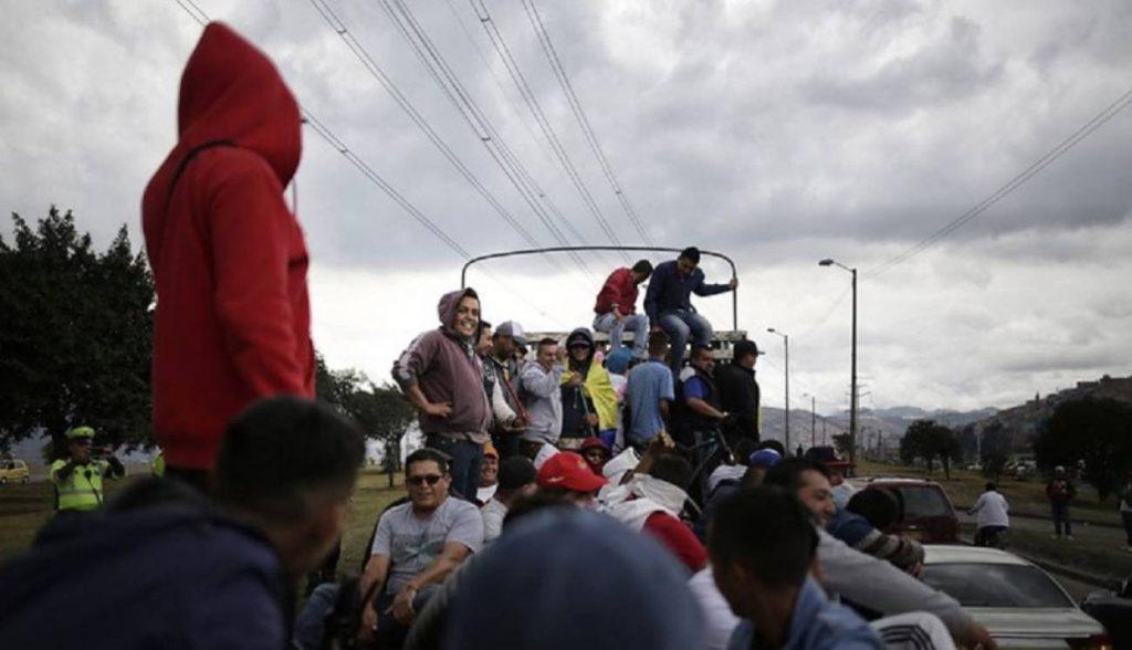 Contaminación en Bogotá.
