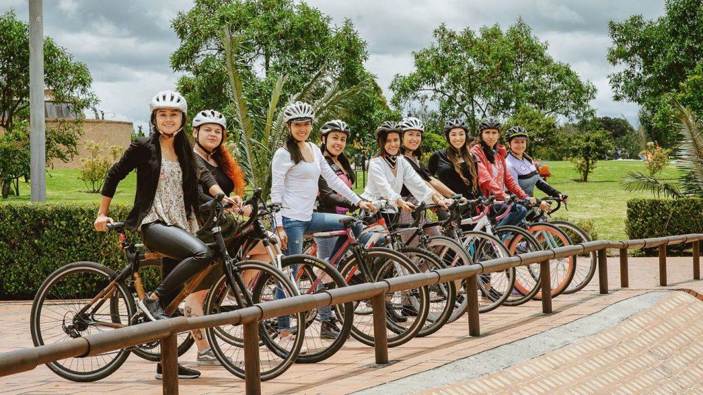 Mujeres en Bici.